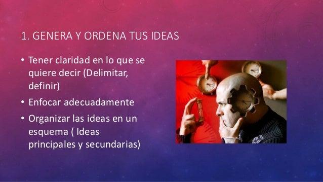Redacción creativa Slide 2