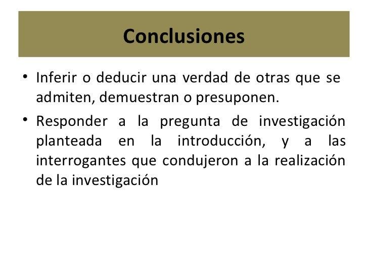 Redacción De Discusión Y Conclusiones