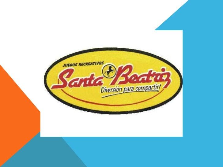 ¿QUIÉNES SOMOS?• Fabricamos y comercializamos juegos recreativos• Somos pioneros y líderes en el mercado peruano  desde 19...