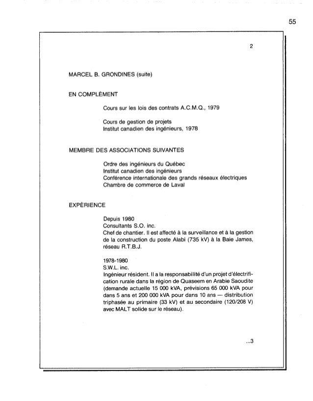 Redaction technique administrative for Chambre de commerce riviere du loup