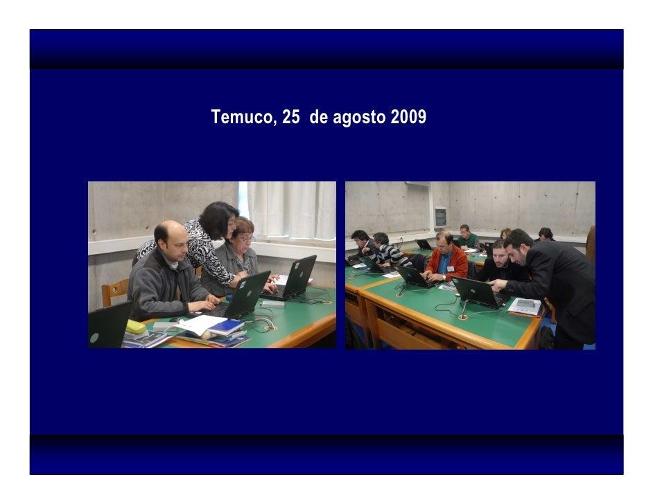 Temuco, 25 de agosto 2009