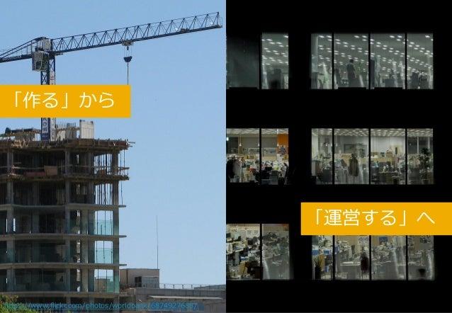 4 「作る」から https://www.flickr.com/photos/worldbank/6874927688/ 「運営する」へ