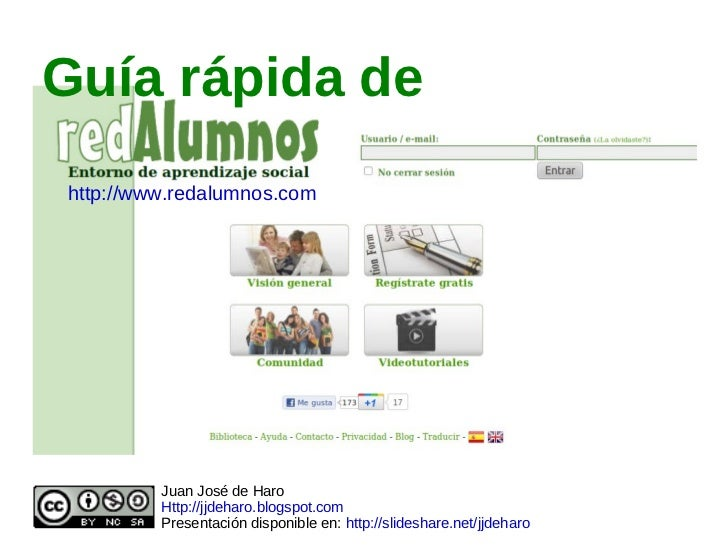 Guía rápida de Juan José de Haro Http://jjdeharo.blogspot.com Presentación disponible en:  http://slideshare.net/jjdeharo ...