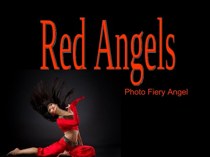 Red Angels Photo Fiery Angel