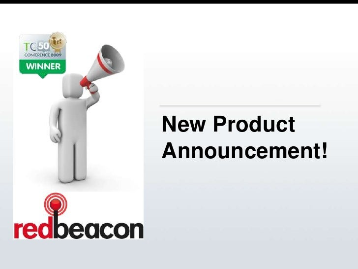 New Product Announcement!<br />
