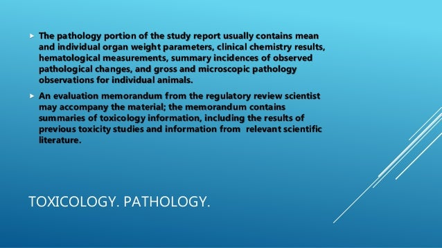 analysis and evaluation of the pathology The following section reviews the importance and key objectives in the pathologic evaluation of tissue and provides information on the types and members of the at a site other than the healthcare facilities, are often used for specialized tests that are ordered only occasionally or require special equipment for analysis.