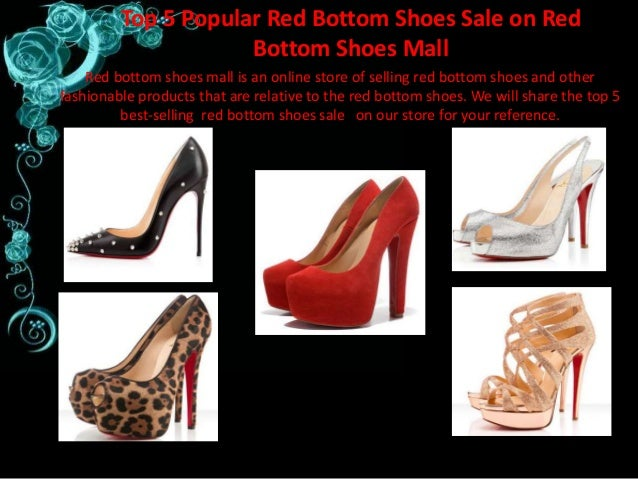 newest collection 8a091 a2155 Top 5 Popular Red Bottom Shoes Sale on Red Bottom Shoes Mall