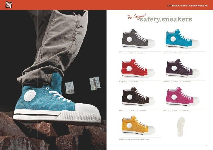 Redbrick Werkschoenen.Werkschoenen Sneakers Redbrick Safety Veiligheidsschoenen E9h2id