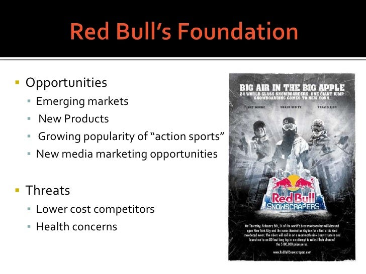 red bull weaknesses Adam yearsley is global head of talent management at red bull this article is  about emotional intelligence follow this topic.