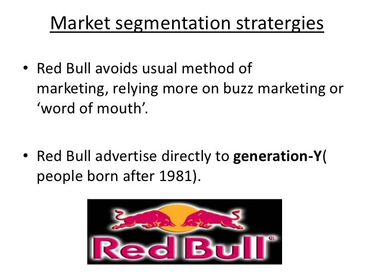 strategic analysis of red bull gmbh Red bull gmbh is an austrian company, which is well-known for its red bull energy drinkthe company is also known for its sponsorship of a range of sporting events and teams .