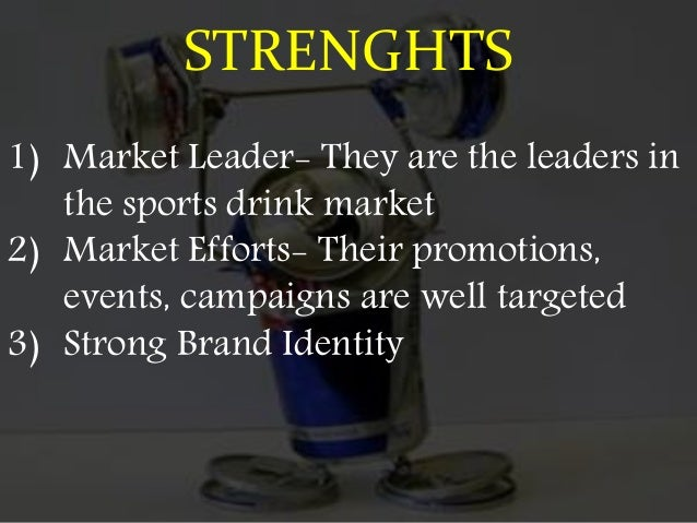 WEAKNESS 1) Prices are little higher than competitors 2) Only has one product with branches of it 3) Lack of innovation 4)...