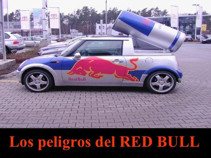 Los peligros del RED BULL