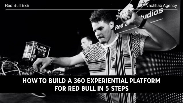 Nachtlab AgencyRed Bull BxB HOW TO BUILD A 360 EXPERIENTIAL PLATFORM FOR RED BULL IN 5 STEPS