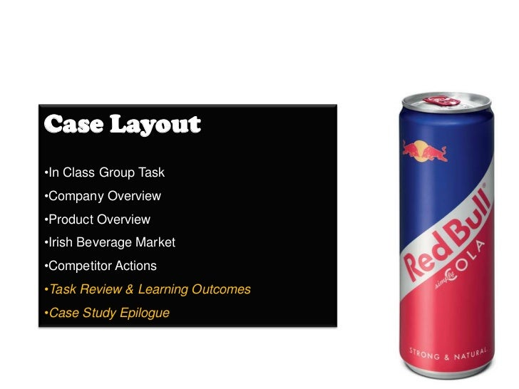 red bull case study harvard Red bull does not give you  consumer interest in the case saw people descend on the red bull site,  paris nightclub red-faced after booze-for-boobs offer.