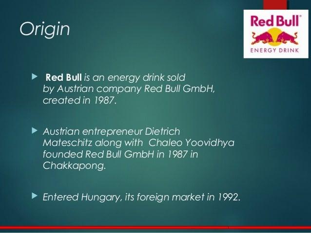 red bull gmbh mission statement