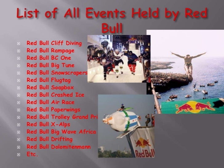 Red Bull Events >> Red Bull Events