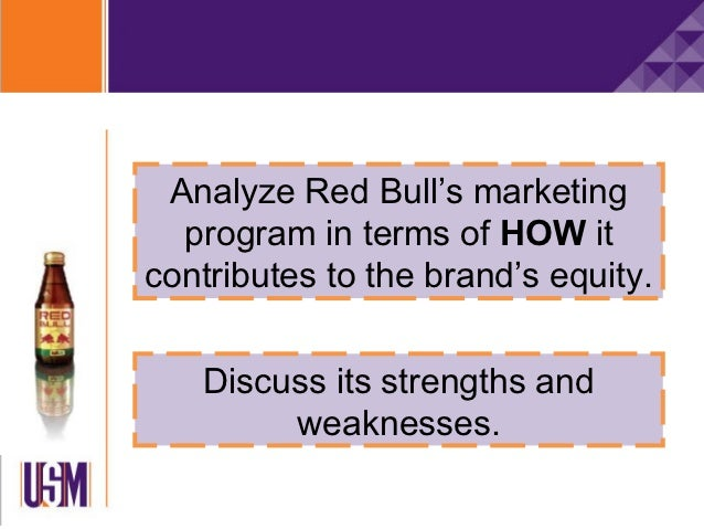 """carn of bull case study  red bull case study briley cienkosz keiser university dr ralf wilhelms mktg 531 october 12, 2014 """"with as much caffeine as a cup of coffee, a can of red bull ."""