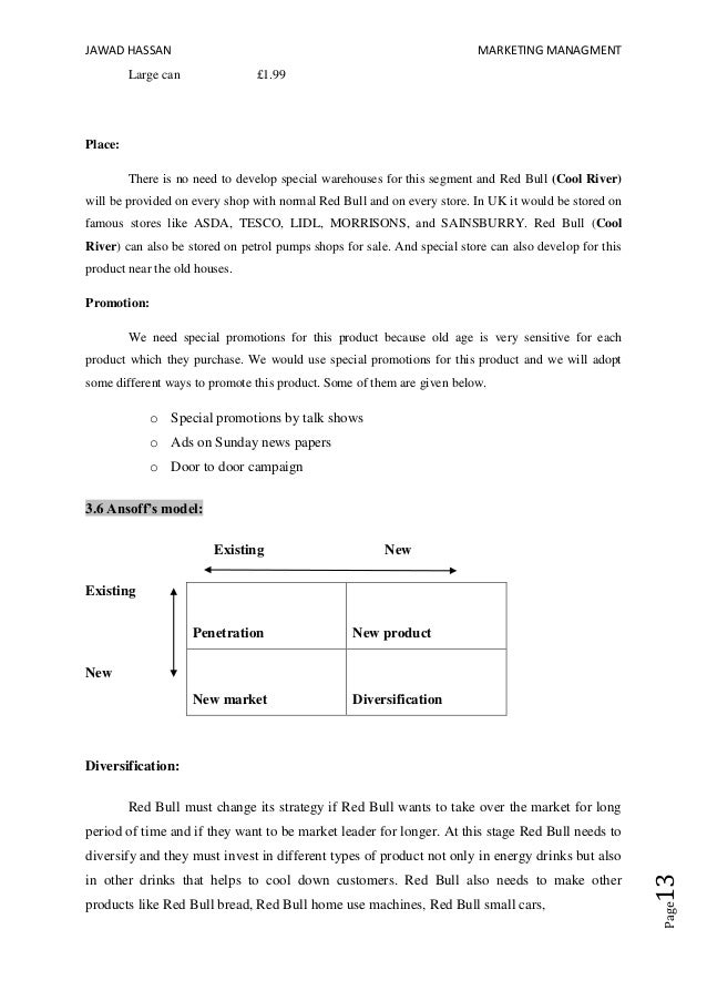 red bull cover letter examples - red bull case study answers