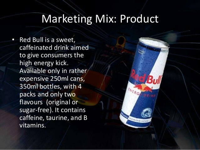 marketing mix plan redbull cola Red bull began a revolution in the market of energy drinks in 1982 austrian  is  also a important issue while making the strategy of the company  in countries  like india and pakistan, pepsi and coca cola have a hold over other products.