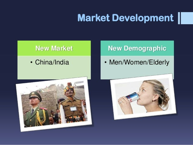 diversification or market development in china Examples of conglomerate diversification include general electric, virgin group ltd and the walt disney company initially a lighting business, general electric.