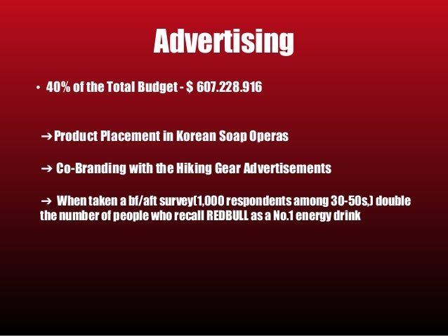 redbull imc plan Business structure and integrated marketing communications plan  this integrated marketing plan will help to promote growth in members at the facility through.
