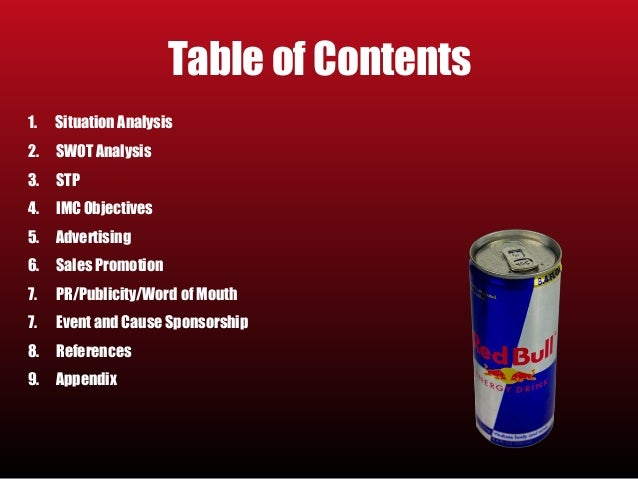 red bull integrated marketing campaign Integrated marketing communications by tony yeshin  olympics they ran a worldwide campaign: dietrich mateschitz founder of red bull.