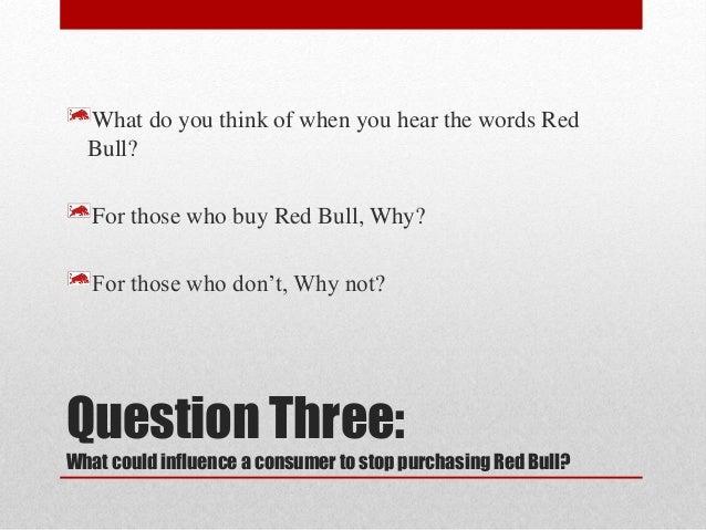 Red Bull Consumer's Behaviour