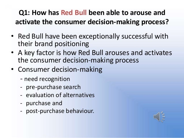 redbull case analysis In today's blog we are going to take a quick look at a well known brand and analyse how they've been able to build up such a universally understood, admired and effective image the answer, well it all comes down to association its contents are not patented, and all the ingredients are.