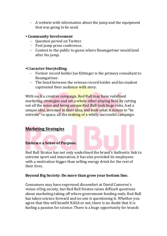 Red Bull's Content Marketing Strategy