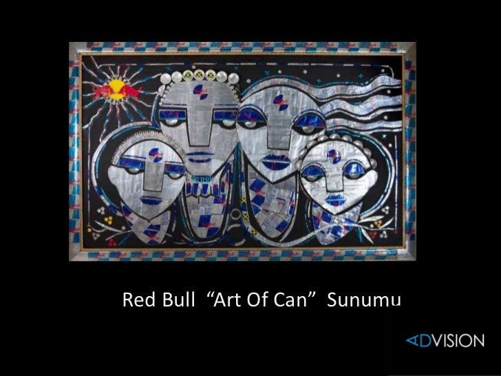 "Red Bull ""Art Of Can"" Sunumu"
