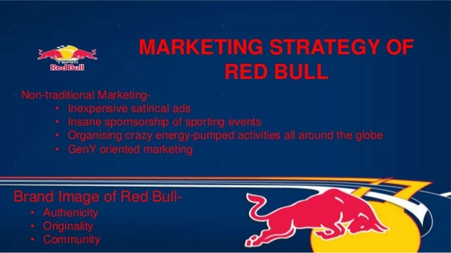 a discussion of red bulls future marketing strategy 41 red bull's strategy  possibilities for future development of the brand include diversification,  strong marketing, wider distribution and the challenge of.