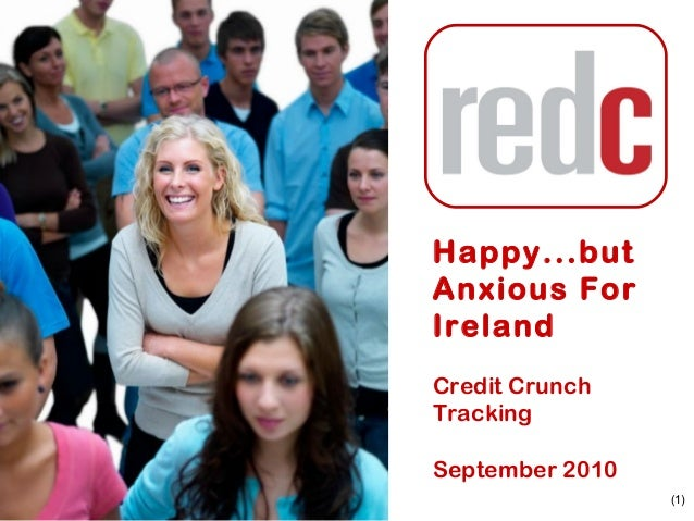 (1) Credit Crunch Tracking September 2010 Happy...but Anxious For Ireland