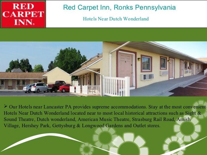 Red Carpet Inn Ronks Pennsylvania