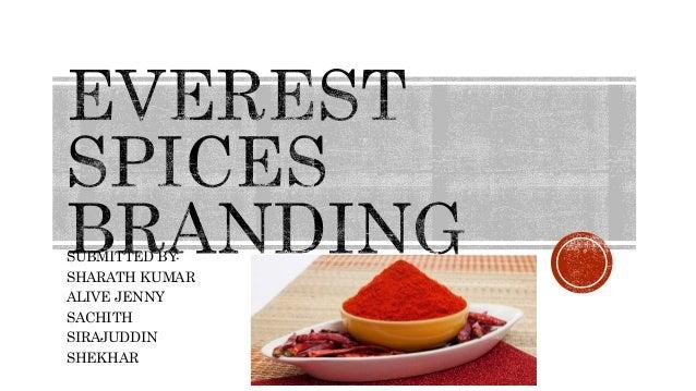 Everest Spices Branding