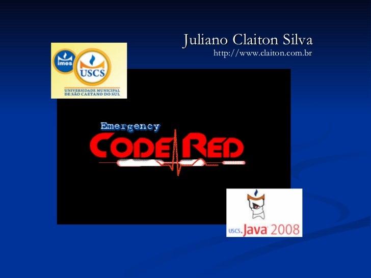 Juliano Claiton Silva http://www.claiton.com.br