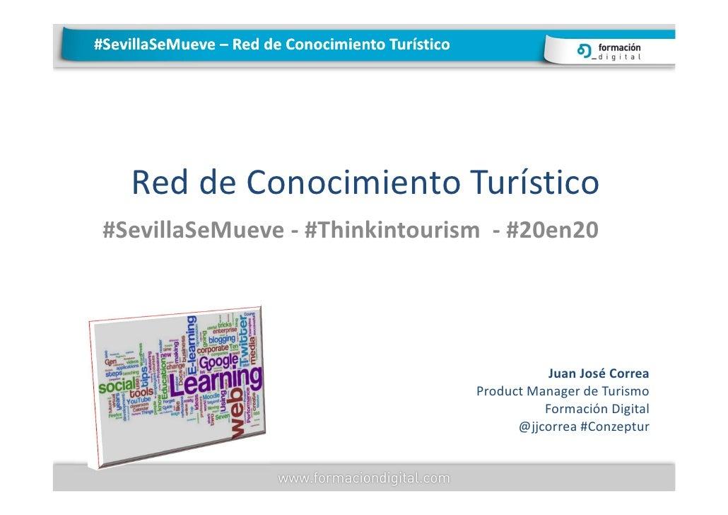 #SevillaSeMueve – Red de Conocimiento Turístico    Red de Conocimiento Turístico #SevillaSeMueve - #Thinkintourism - #20en...