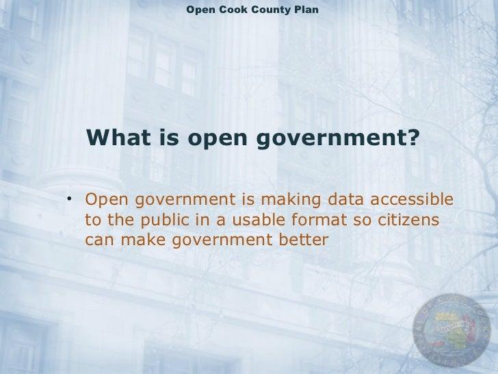 Open Cook County Slide 2