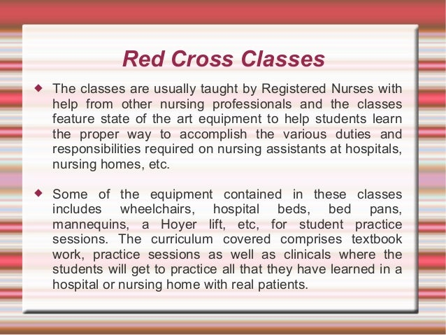 Considering Becoming A CNA? Why Not Let Red Cross CNA