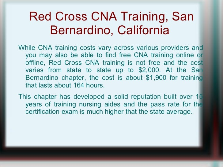 Red Cross Cna Training Is The Way To Go If Interested In This Field