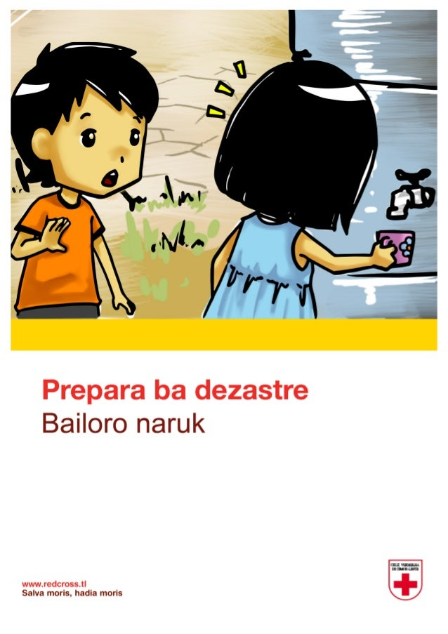 Redcross comic drought_timor