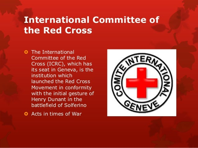 a research on the origin and organization of the red cross History of cpr cardiac arrest vs research council of the national academy of sciences convened an ad hoc conference on cardiopulmonary resuscitation the.