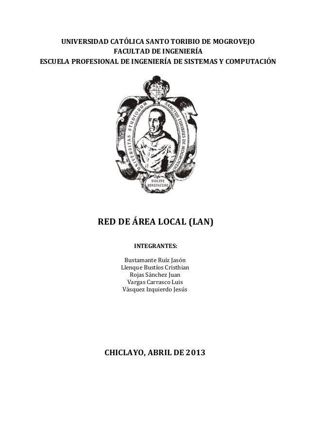 UNIVERSIDAD CATÓLICA SANTO TORIBIO DE MOGROVEJOFACULTAD DE INGENIERÍAESCUELA PROFESIONAL DE INGENIERÍA DE SISTEMAS Y COMPU...