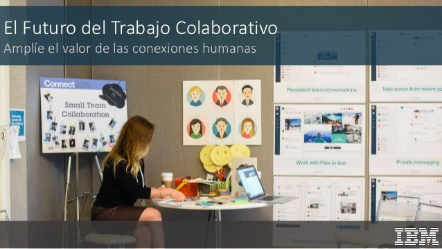 El Futuro del Trabajo Colaborativo Amplíe el valor de las conexiones humanas