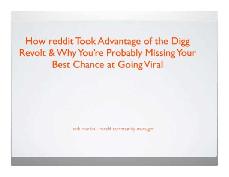 How Reddit Ate Digg's Lunch and Kicked Ass at it