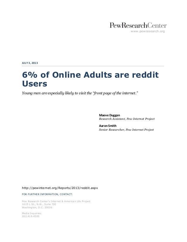 Reddit Usability Testing