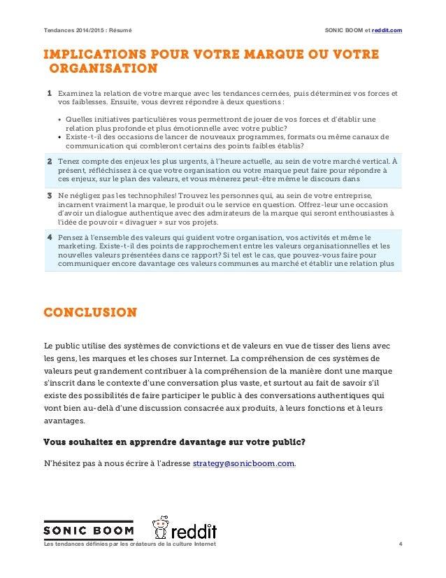 Tendances 2014 2015 sommaire executif for Business plan salon de coiffure pdf