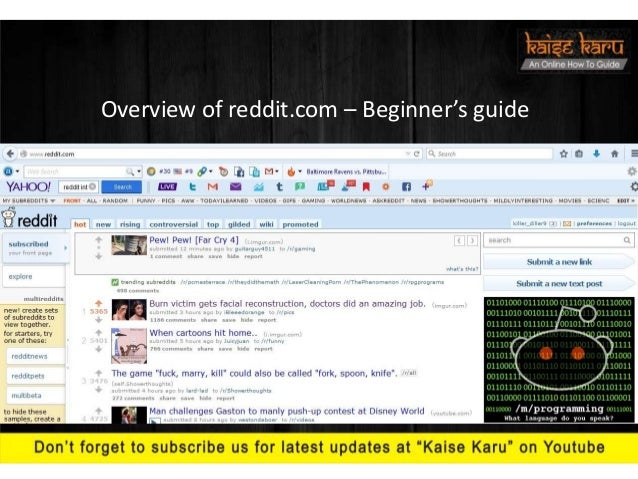 How to increase traffic on your website/blog by using reddit com