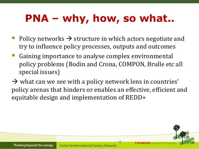 ?Who cooperates/conflicts; 4.  sc 1 st  SlideShare & REDD+ Policy Network Analysis: Update and Introduction