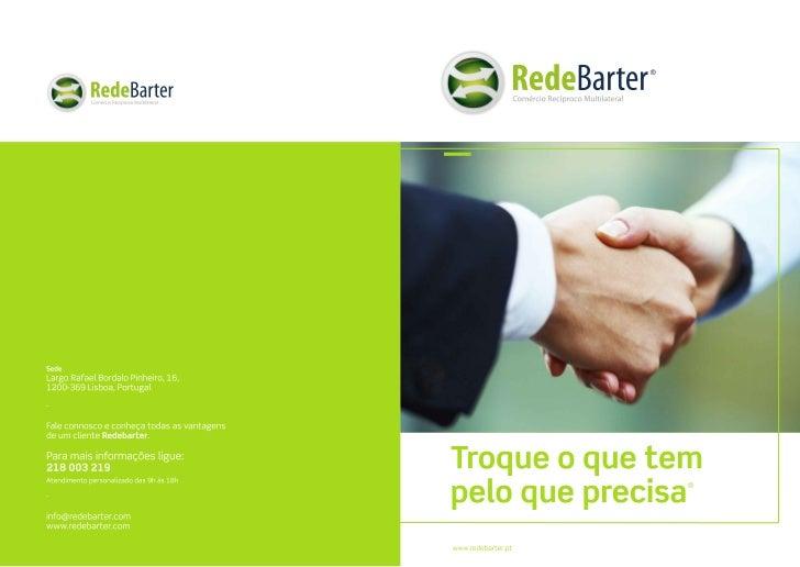 Apresentação RedeBarter