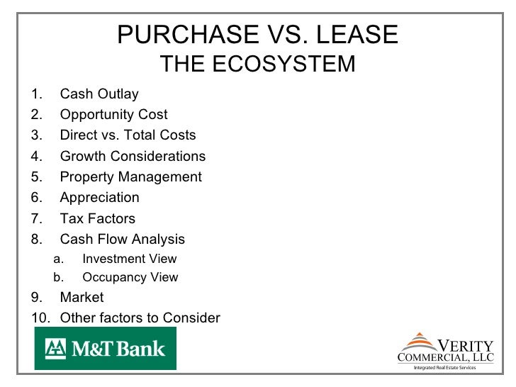 purchase vs lease analysis